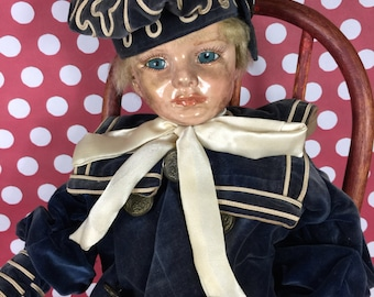 Doll- Reproduction Sailor Doll