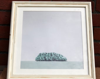 Tree bunch - Limited edition, framed glicee print.
