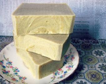 Orange Soap, Citrus Soap, Orange Peel Exfoliating