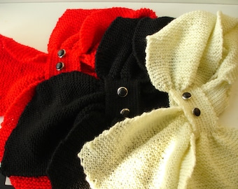 Custom knitted - Scarflette in any color you want