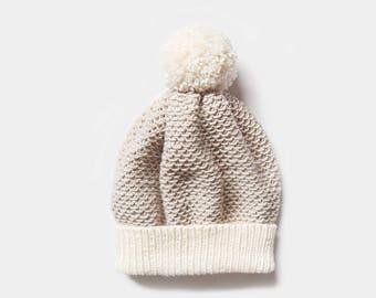 KNITTING PATTERN • Beanie Knitting Pattern • Hat Knitting Pattern