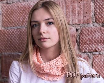 scarf pattern crochet scarf pattern cowl pattern cotton scarf pattern easy crochet scarf pattern boho scarf pattern DIY scarf pattern cowl
