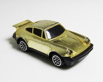 Gold Porsche