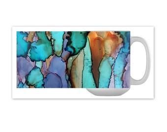 Abalone Mug - Mermaid Gift - Beach Decor - Coffee Mug - Java - Tea Mug - Custom Mug - Coffee Cup - Foodie Gift - Coffee Gift - Kitchen Decor