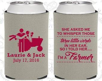 She Asked me to Whisper, Those three little words in her ear, so I told her I am a farmer, Country Wedding Gift, Farm Wedding Gift (544)