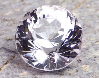 Danburite-Mexico 4.96 Ct clarity VVS1-Precision Faceting by Ian-Natural Untreated-For Beautiful Jewelry!