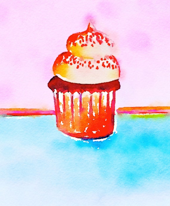 NEW ***** Journal Cards / Tip Ins - Cupcake / Baking