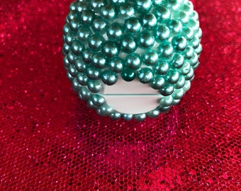 Turquoise Bling Pearl EOS Lip Balm