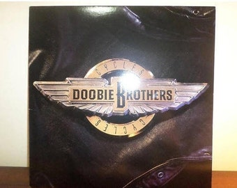 Vintage 1989 Vinyl LP Record Cycles The Doobie Brothers Near Mint Condition 11618