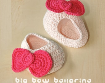 CROCHET PATTERN Big Bow Ballerina - Symbol Diagram (pdf)