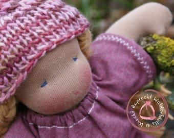 Waldorfdoll - Knecht Ruprecht Companiondoll - handmade in Austria - 30 cm - organic & GOTS certified materials - Cloth Doll for Children