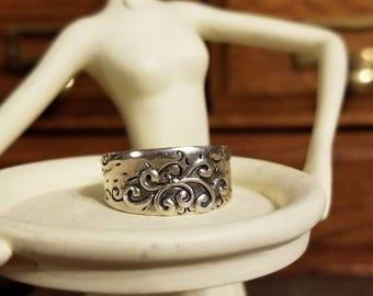 Retired Silpada Poseidon Ring Size 9