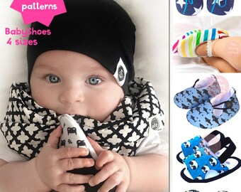 Baby Boy Sewing Pattern, 6 DIGITAL PATTERNS, Retro Baby Pattern, Baby Clothes Pattern, Baby shoe pattern, PDF sewing pattern,Sewing for Baby