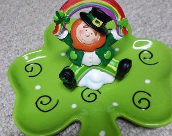 St Patricks Candy Tray