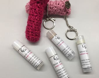 Crochet Women's March t Lip Balm Holder