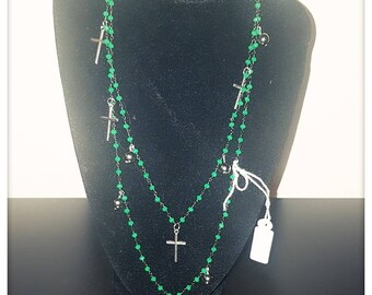 Rosary Necklace and Pendants