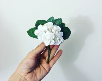Rose Boutonniere.