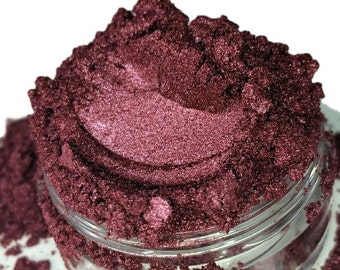 Bodacious Red Raspberry Natural vegan organic Luster Eyeshadow Mineral Make up eyeliner 10g Sifter Jar rouge Eye shadow