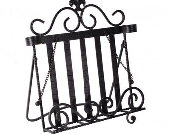 Mary Beetons Cast iron cookbook stand