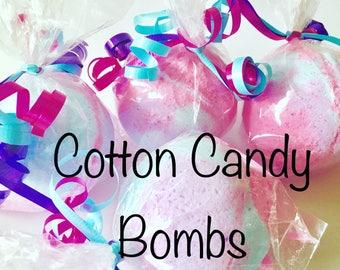 Single Cotton Candy Bath Bomb