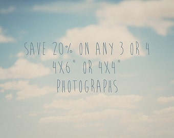 discounted print set save on any 3 or 4 photographs 4x6 photograph 4x4 photography 6x4 photograph fine art photography
