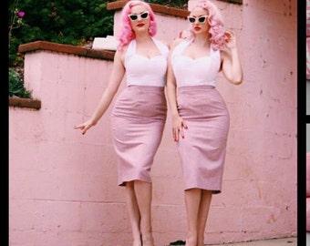 Pink Lady pencil Skirt! Skirt