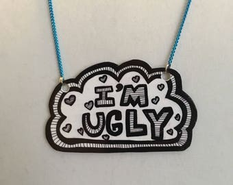 Therapeutic Ugly Necklace ~ Shrink Plastic