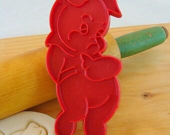 Pig Vintage Tupperware Imprint Cookie Cutter