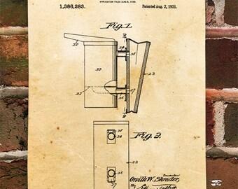KillerBeeMoto: Duplicate of Original U.S. Patent For Shrader Beehive Smoker