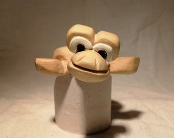 Cartoon Turtle © Hand Carved Wooden Sculpture
