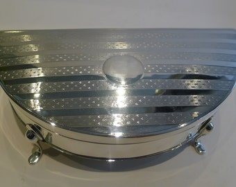 Smart Large Sterling Silver Jewelry Box by Charles S Green & Co.