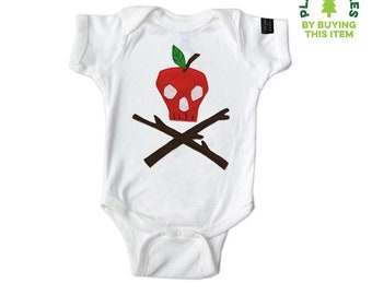 Poison Apple - Baby Bodysuit - mi cielo x Donald Robertson - Boys or Girls