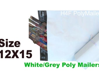 20 bags 12x15 Poly Mailer Sealing Shipping Mailing Bags Envelopes Packaging 2 mil