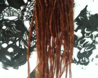 Twisted Dreadlocks: Neon Red