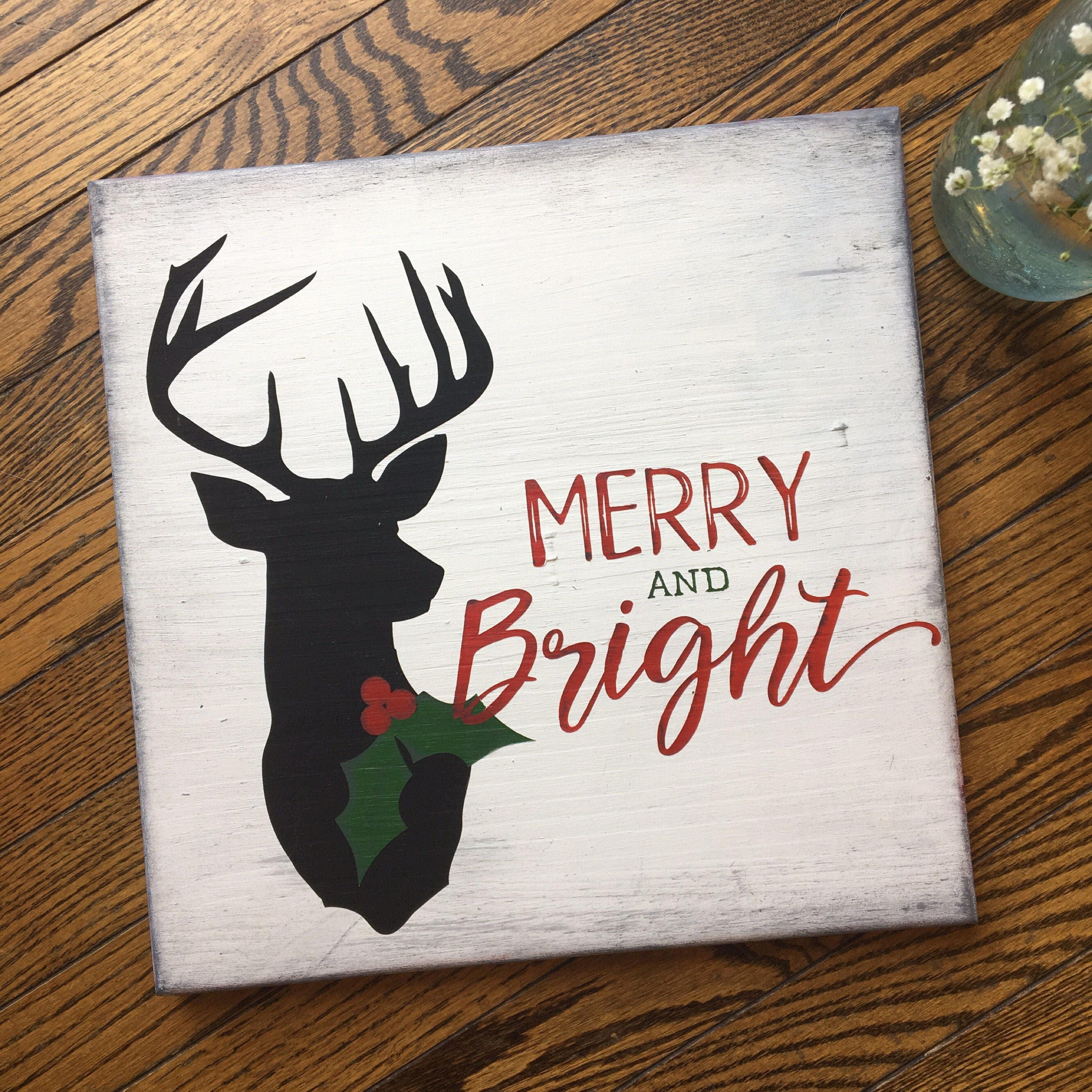 Merry And Bright Reindeer...