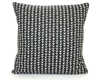 Black White Decorative Throw Pillow Cushion Covers All Sizes Black White Vine Couch Sofa Pillows Black Bedding Home Decor Accent Cushion