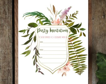 Printables - Invitations