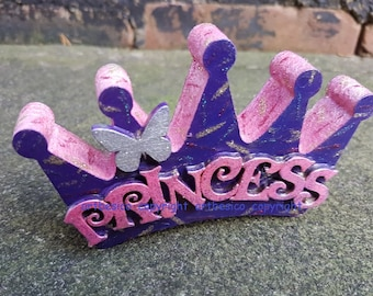 Crown shaped freestanding - PRINCESS