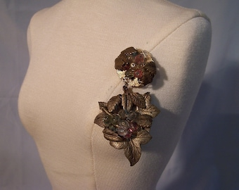 A Vintage, two piece brooch, Beautiful, Gift For Her, Vintage, Antiques