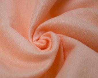 """Abby PEACH 72"""" Acrylic Felt Fabric by the Yard - 10030"""