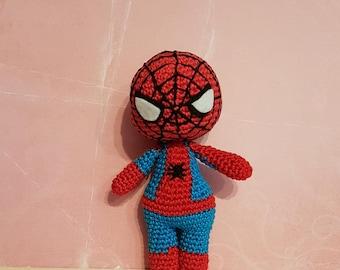 Spiderman Amigurumi made to order!