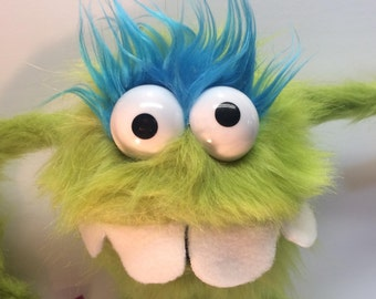Fuzz Monster hand Puppet