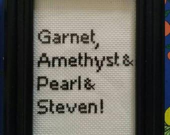 Crystal Gems X Stitch