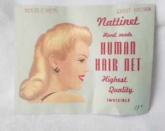 Vintage Nattinet Hair Net
