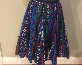 Vintage full Party skirt