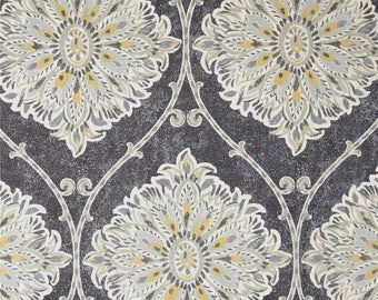 Leverett Mist, Magnolia Home Fashions - Cotton Upholstery Fabric By The Yard