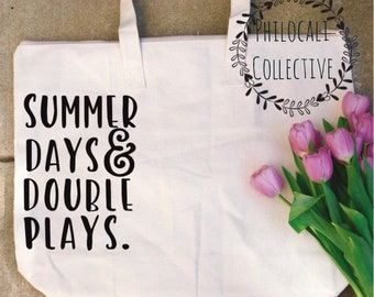 Summer Days & Double Plays Tote