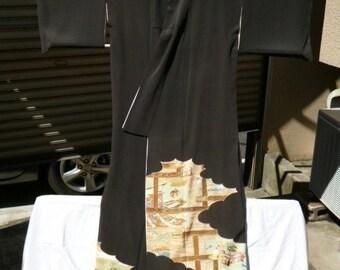 Japanese wedding kimono K022