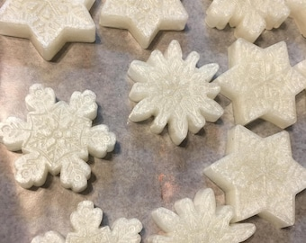 Shimmering Snowflake Soap
