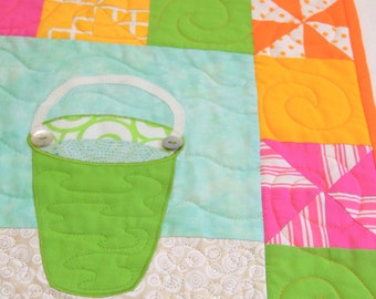 Sand Pail Quilt Pattern: Bucket List